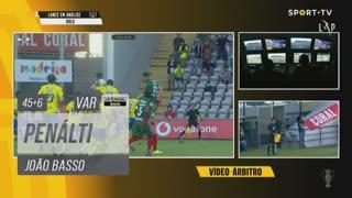 FC Arouca, Penálti, João Basso aos 45'+6'
