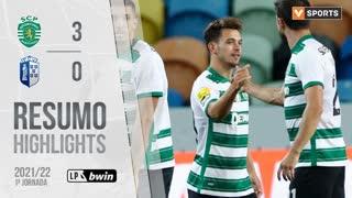 I Liga (1ªJ): Resumo Sporting CP 3-0 FC Vizela