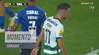 Sporting CP, Jogada, Sarabia aos 41'