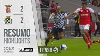 Liga Portugal bwin (8ªJ): Resumo Flash SC Braga 2-2 Boavista FC