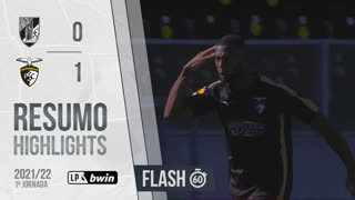 I Liga (1ªJ): Resumo Flash Vitória SC 0-1 Portimonense