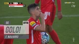 GOLO! Gil Vicente FC, F. Navarro aos 90', Gil Vicente FC 2-2 FC Vizela