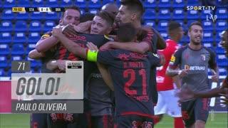 GOLO! SC Braga, Paulo Oliveira aos 71', Santa Clara 0-1 SC Braga