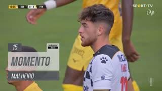 Boavista FC, Jogada, Malheiro aos 15'