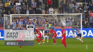 FC Porto, Caso, Wendell aos 16'