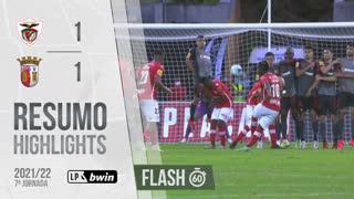Liga Portugal bwin (7ªJ): Resumo Flash Santa Clara 1-1 SC Braga