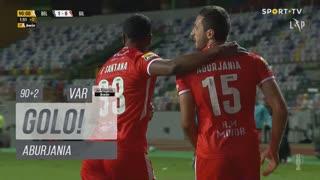 GOLO! Gil Vicente FC, Aburjania aos 90'+2', Belenenses SAD 1-1 Gil Vicente FC