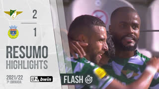 Liga Portugal bwin (7ªJ): Resumo Flash Moreirense FC 2-1 FC Arouca