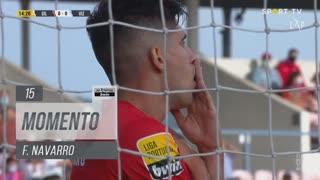 Gil Vicente FC, Jogada, F. Navarro aos 15'