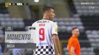 Boavista FC, Jogada, Musa aos 25'