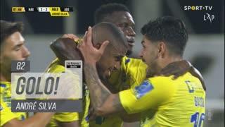 GOLO! FC Arouca, André Silva aos 82', Marítimo M. 2-2 FC Arouca