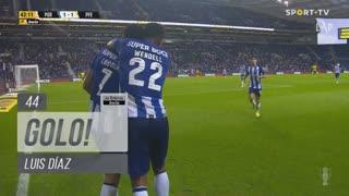 GOLO! FC Porto, Luis Díaz aos 44', FC Porto 1-1 FC P.Ferreira