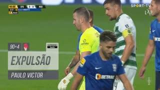 Marítimo M., Expulsão, Paulo Victor aos 90'+4'
