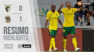 I Liga (4ªJ): Resumo Portimonense 0-1 FC P.Ferreira