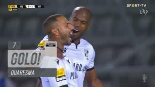 GOLO! Vitória SC, Quaresma aos 7', FC Arouca 0-1 Vitória SC