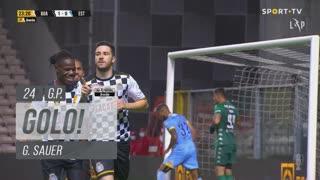 GOLO! Boavista FC, G. Sauer aos 24', Boavista FC 1-0 Estoril Praia