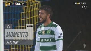 Sporting CP, Jogada, Paulinho aos 35'