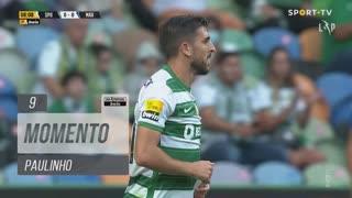 Sporting CP, Jogada, Paulinho aos 9'