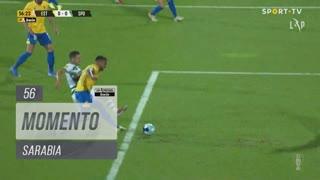 Sporting CP, Jogada, Sarabia aos 56'