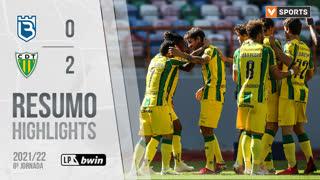 Liga Portugal bwin (8ªJ): Resumo Belenenses SAD 0-2 CD Tondela