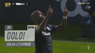 GOLO! Vitória SC, Oscar Estupiñán aos 34', FC Famalicão 1-1 Vitória SC
