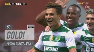 GOLO! Sporting CP, Pedro Gonçalves aos 50', SC Braga 0-2 Sporting CP