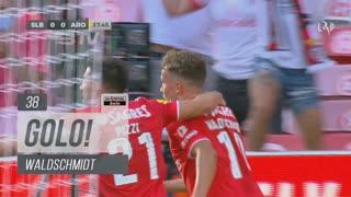 GOLO! SL Benfica, Waldschmidt aos 38', SL Benfica 1-0 FC Arouca