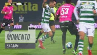 Sporting CP, Jogada, Sarabia aos 1'