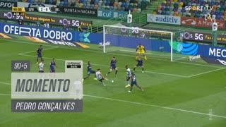 Sporting CP, Jogada, Pedro Gonçalves aos 90'+5'