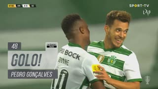 GOLO! Sporting CP, Pedro Gonçalves aos 48', Sporting CP 1-0 FC Vizela