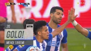 GOLO! FC Porto, Mehdi Taremi aos 20', CD Tondela 1-1 FC Porto