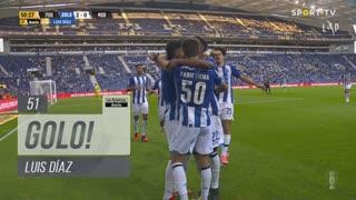 GOLO! FC Porto, Luis Díaz aos 51', FC Porto 2-0 Moreirense FC