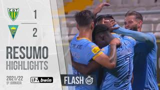 Liga Portugal bwin (5ªJ): Resumo Flash CD Tondela 1-2 Estoril Praia