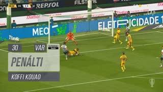 FC Vizela, Penálti, Koffi Kouao aos 30'