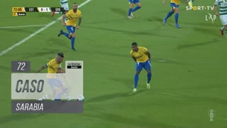 Sporting CP, Caso, Sarabia aos 72'