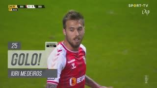 GOLO! SC Braga, Iuri Medeiros aos 25', SC Braga 1-1 Boavista FC
