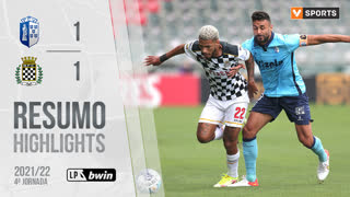 Liga Portugal bwin (4ªJ): Resumo FC Vizela 1-1 Boavista FC