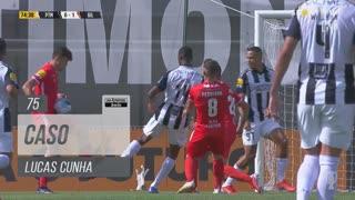 Gil Vicente FC, Caso, Lucas Cunha aos 75'