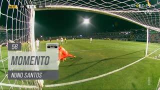 Sporting CP, Jogada, Nuno Santos aos 58'
