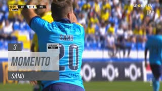 FC Vizela, Jogada, Samu aos 3'