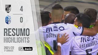 Liga Portugal bwin (3ªJ): Resumo Vitória SC 4-0 FC Vizela