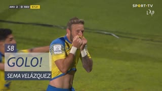 GOLO! FC Arouca, Sema Velázquez aos 58', FC Arouca 2-0 Rio Ave FC