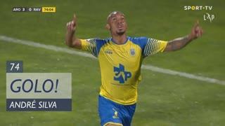 GOLO! FC Arouca, André Silva aos 74', FC Arouca 3-0 Rio Ave FC