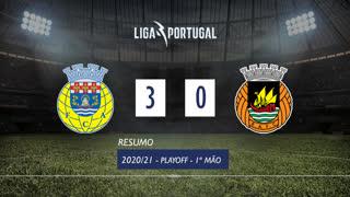 Playoff (Final): Resumo FC Arouca 3-0 Rio Ave FC