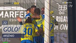 GOLO! FC Arouca, Arsénio aos 32', Rio Ave FC 0-1 FC Arouca