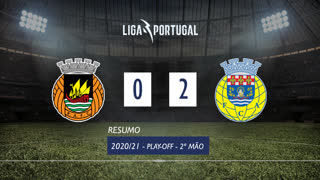 Playoff (Final): Resumo Rio Ave FC 0-2 FC Arouca