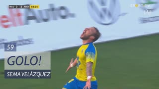 GOLO! FC Arouca, Sema Velázquez aos 59', Rio Ave FC 0-2 FC Arouca