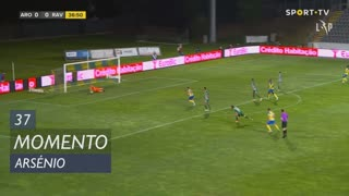 FC Arouca, Jogada, Arsénio aos 37'