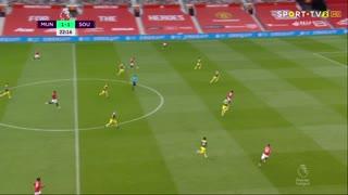 GOLO! Man. United, A. Martial aos 21', Man. United 2-1 Southampton