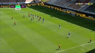 GOLO! Wolverhampton, L. Dendoncker aos 46', Wolverhampton 2-0 Everton